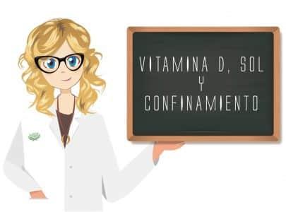 VITAMINA D, SOL  Y CONFINAMIENTO